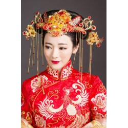 Chinese Bridal Style Retro Jewlery hair pieces