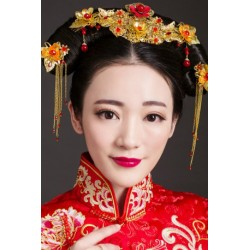 Chinese Bridal jewelry hair crown