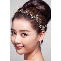 Korean Bridal Rhinestone hair rope