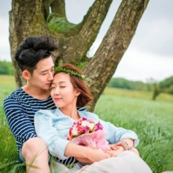 Jeju Pre-Wedding Outdoor Photography