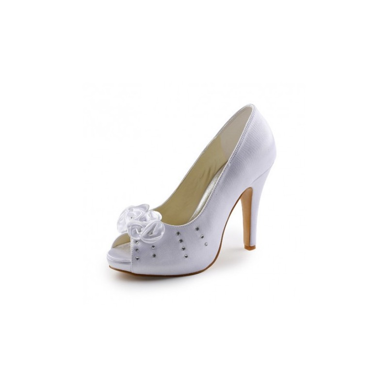 Five Flowers Wedding Shoes