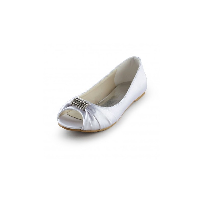 Brenna Flat Bridal Shoes