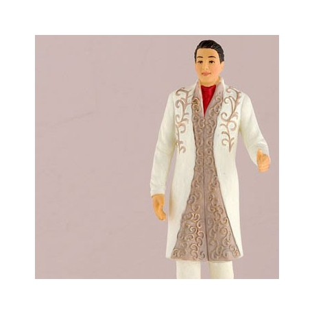 Typical Wedding Gift For Bride From Groom : ... & Beverages > Indian Groom in Traditional Suit Wedding Cake Topper